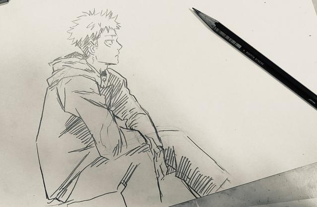 「咒术回战」的总作画监督新绘公开