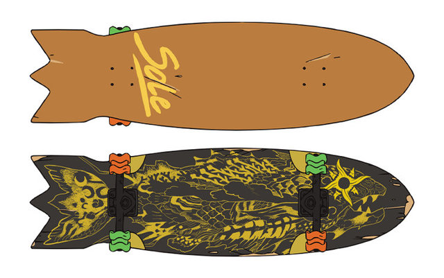 「无限滑板」官网公布角色滑板图