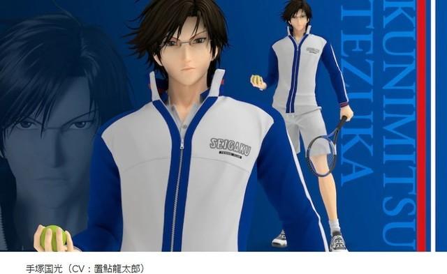 「龙马!The Prince of Tennis 新生剧场版网球王子」主角CG定妆照公开
