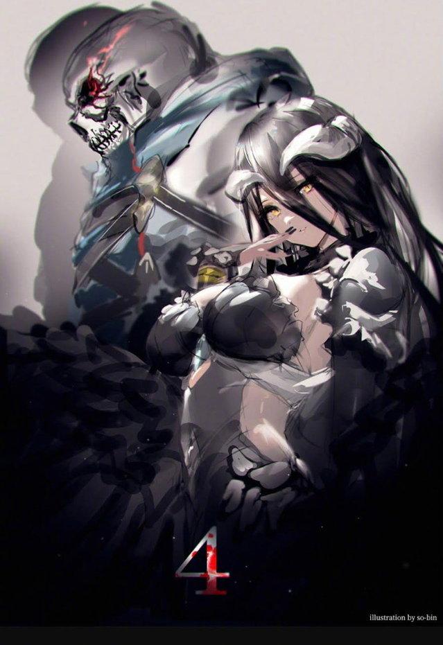 动画「OVERLORD不死者之王」第四季视觉图公开