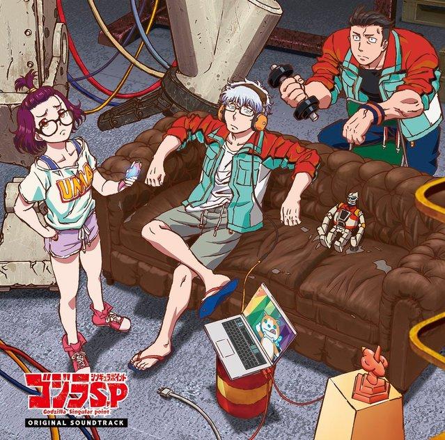 TV动画「哥斯拉:奇异点」原声集封面插图公布