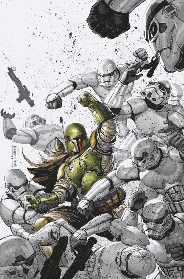 「星球大战:赏金猎人战争」第2期变体封面公开