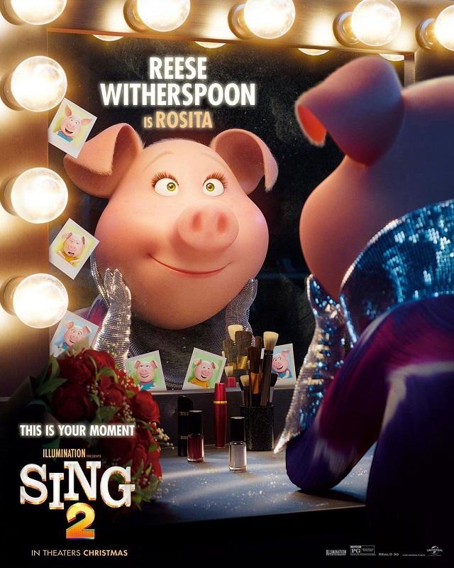 动画电影「欢乐好声音2」发布角色海报