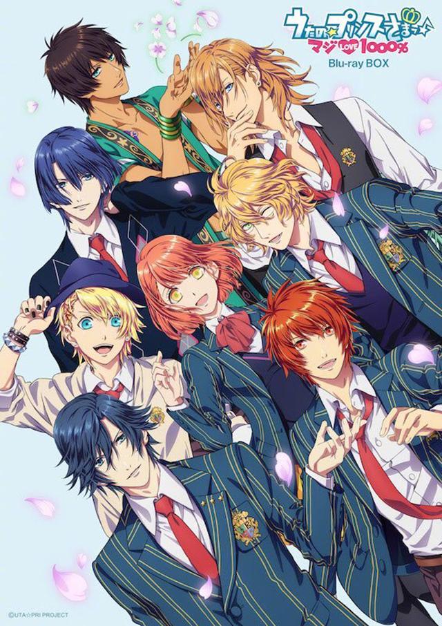「歌之☆王子殿下♪ 真爱LOVE1000%」动画10周年纪念Blu-ray BOX封面绘公开