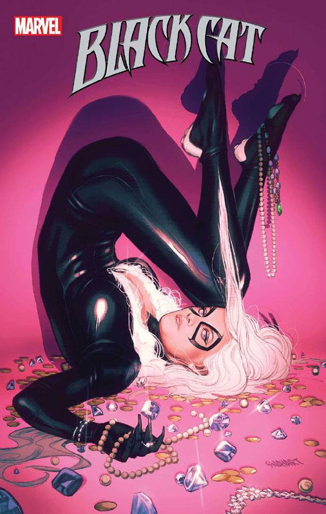 漫威漫画「黑猫」第9期变体封面公开