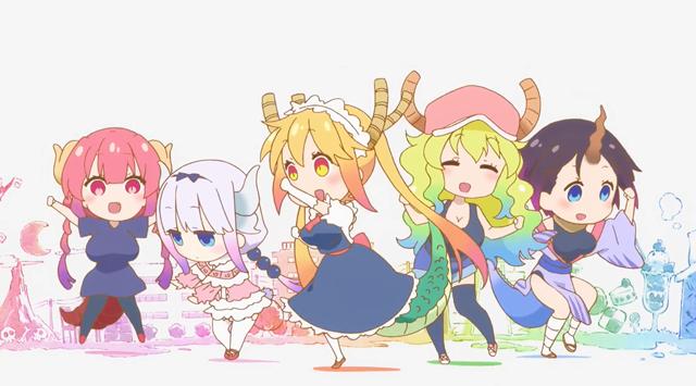 动画「小林家的龙女仆S」NCOP&NCED公开