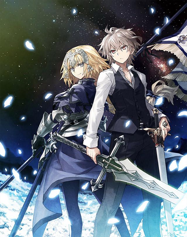 TV动画「Fate/Apocrypha」BD-BOX封面图公布