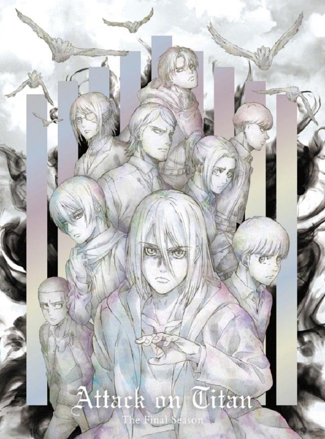 「进击的巨人 最终季」BD&DVD2卷封面公开