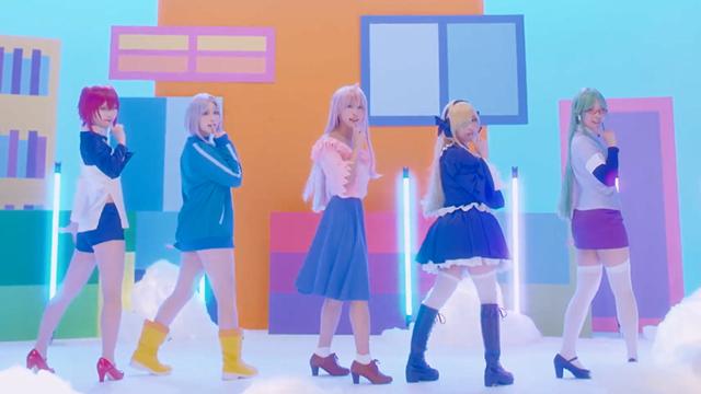 「女神宿舍的管理员。」OP主题曲「Naughty Love」真人版MV公开