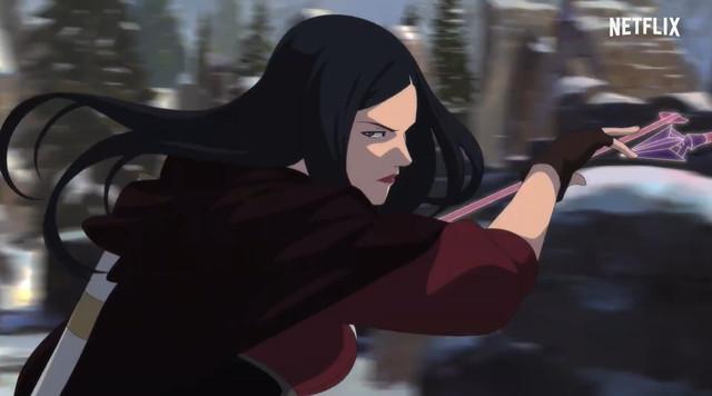 动画「巫师:狼之噩梦」中字版新预告公开
