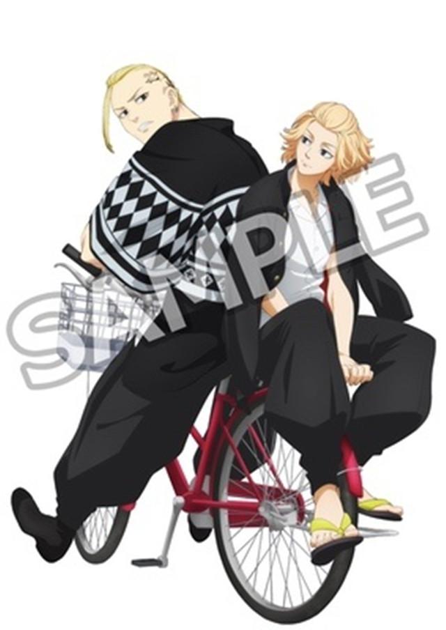 动画「东京卍复仇者」Blu-ray&DVD第五卷封面公开