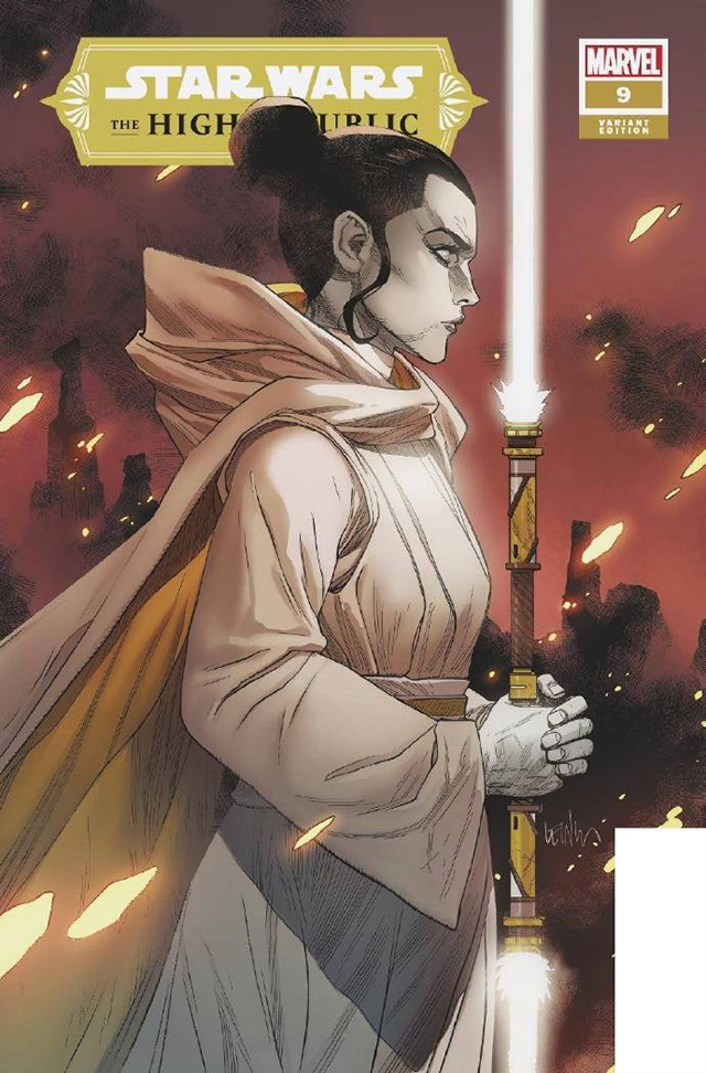 「Star Wars:The High Republic」第9期变体封面公开