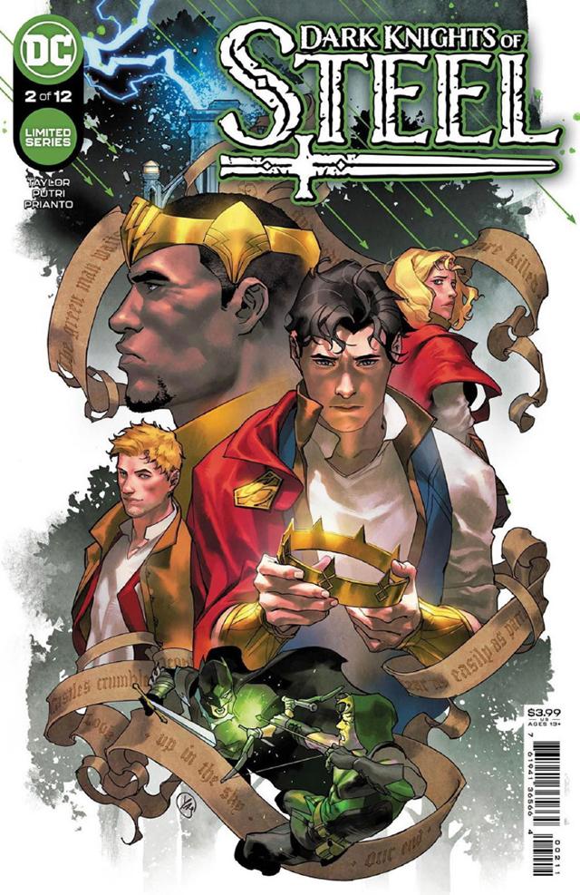 DC漫画「钢铁黑骑」第2期正式封面公开