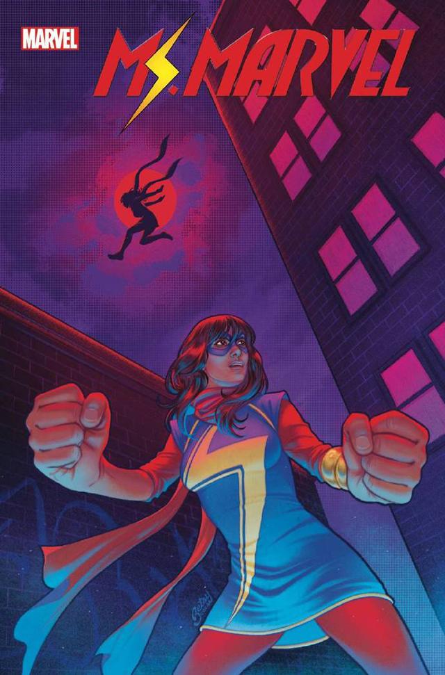 「惊奇女士:极限之外」第2期变体封面公开