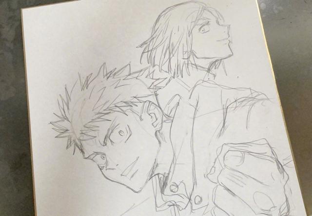 「咒术回战」动画总作画监督公开最新角色插图