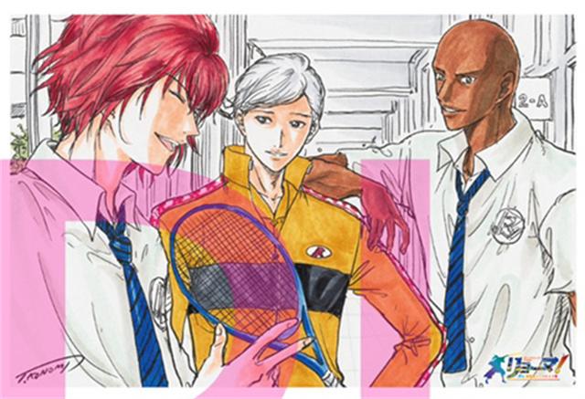 许斐刚绘制「龙马!新生剧场版网球王子」第3周特典插画卡公开