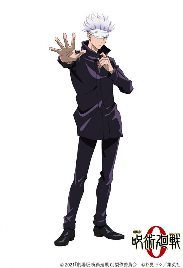 剧场版动画「咒术回战 0」五条悟角色视觉图公开