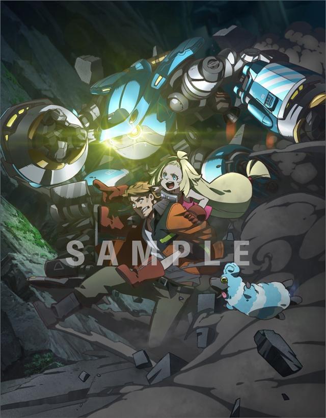 动画「迷宫标记者」公开Blu-ray BOX上卷封面样式