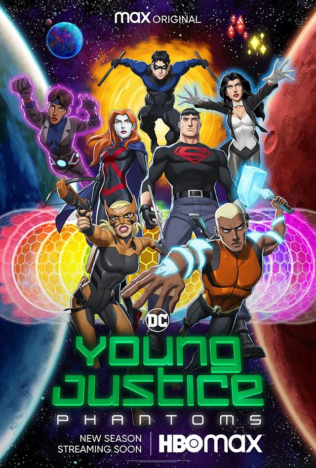TV动画「少年正义联盟」第四季海报正式公开